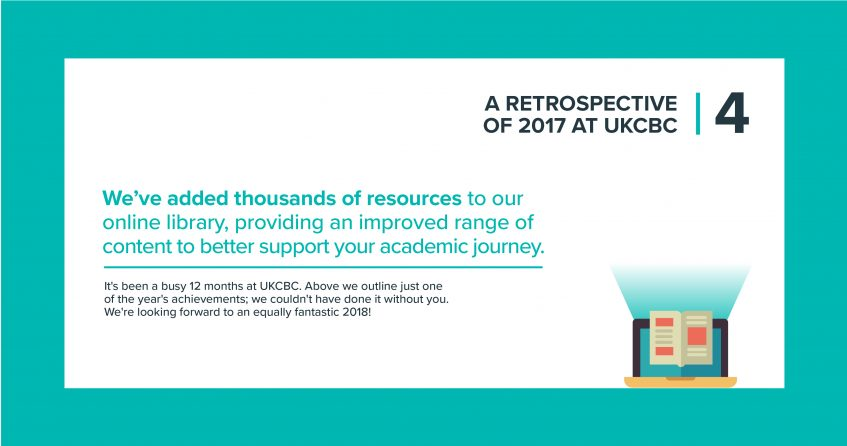 UKCBC achievements 2017 - part 4