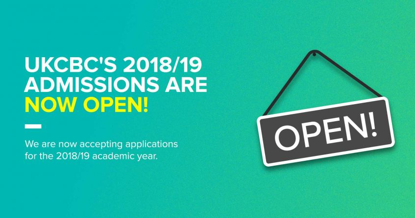 2018-2019 Admission Open_UKCBC_image