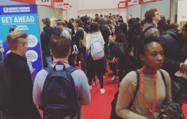 UCAS Higher Education Exhibition 2016 photo 2
