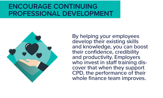 encourage continuing professional development - aat